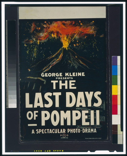 George Kleine presents, The Last Days of Pompeii, a spectacular photo-drama / The H.C. Miner Litho. Co., N.Y.