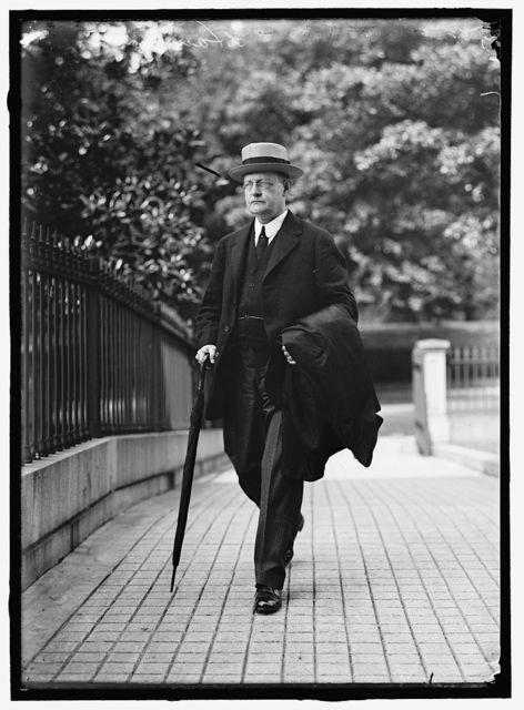 HAMLIN, CHARLES S. ASSISTANT SECRETARY OF THE TREASURY, 1913 -