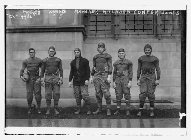 Hog (B) (i.e., Hoge); Wynne; Mahoney; Millburn; Confer; Jones