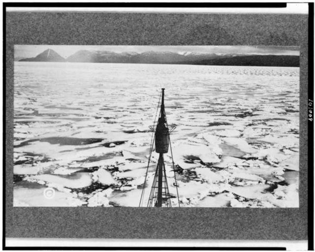 [Ice floes in the Arctic]