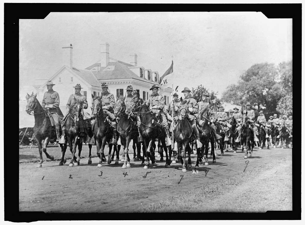 INAUGURAL PARADES. ESSEX TROOP OF NEW JERSEY