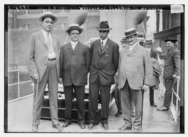 Jas. J. Brady, Ury Woodson, B. Sullivan, B.F. Mitchell