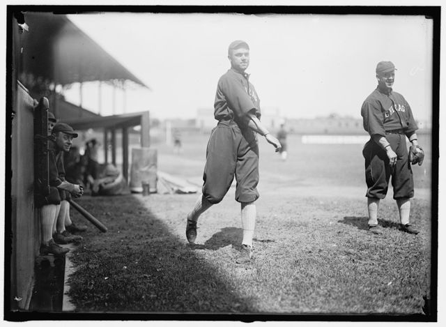 "[Joe Berger, Walter ""Biff"" Schaller, ""Kid"" Gleason, Chicago AL (baseball)]"
