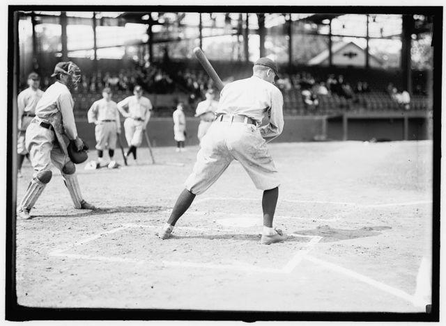 [Joe Jackson, Cleveland AL, at National Park, Washington, D.C. (baseball)]