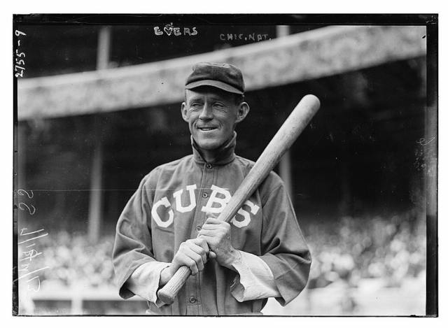 [Johnny Evers, Chicago NL, at Polo Grounds, NY (baseball)]