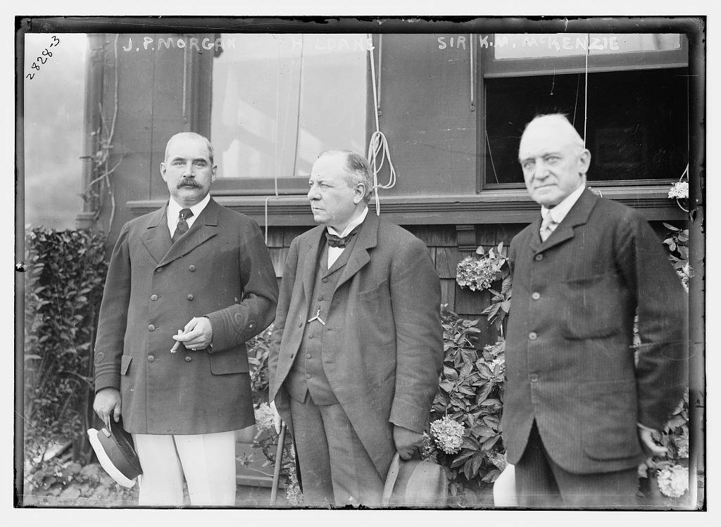 J.P. Morgan - Haldane - Sir K. M. McKenzie
