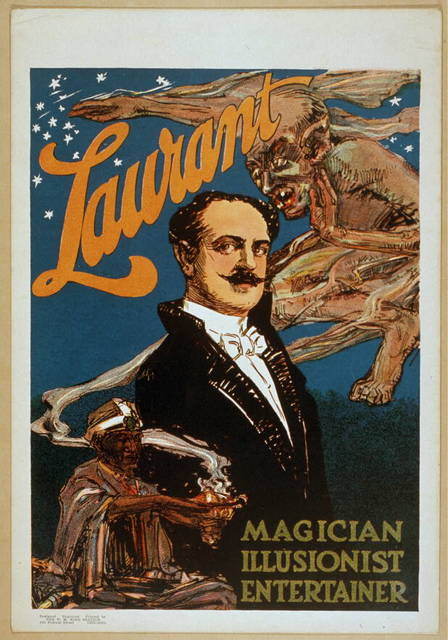 Laurant magician, illusionist, entertainer.