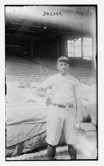 [Lee Dashner, Cleveland AL, at Polo Grounds, NY (baseball)]