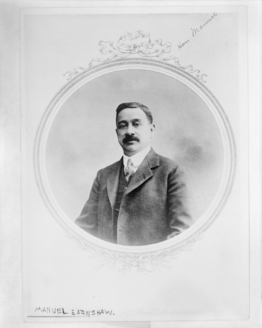 [Manuel Earnshaw, Resident Commissioner of the Philippines, half-length portrait, facing front]