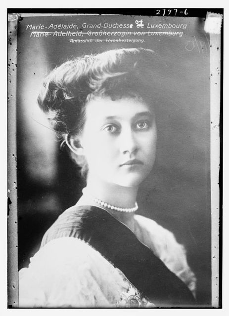 Marie Adelaide, Grand Duchess of Luxembourg