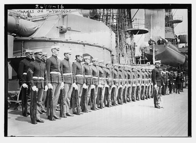 Marines on WYOMING