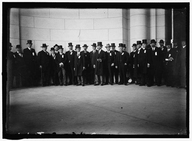 MARSHALL, THOMAS RILEY GOVERNOR OF INDIANA, 1909-1913; VICE PRESIDENT OF THE UNITED STATES, 1913-1921. RECEPTION COM. TO V.P.-ELECT