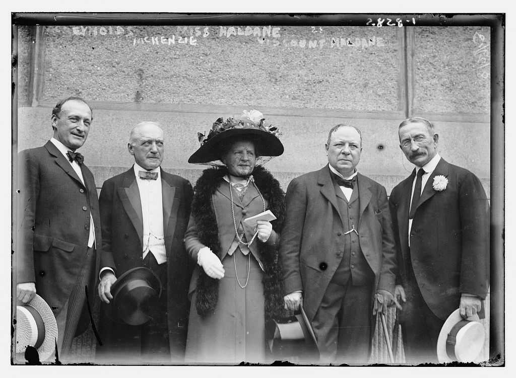 McReynolds, McKenzie, Miss Haldane, Viscount Haldane