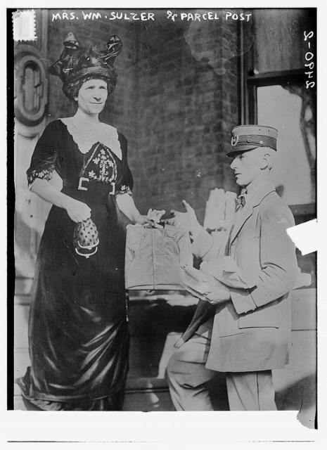 Mrs. Wm. Sulzer & parcel post