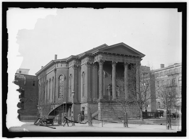 NEW YORK AVENUE PRESBYTERIAN CHURCH HARLAN, JUSTICE; FUNERAL