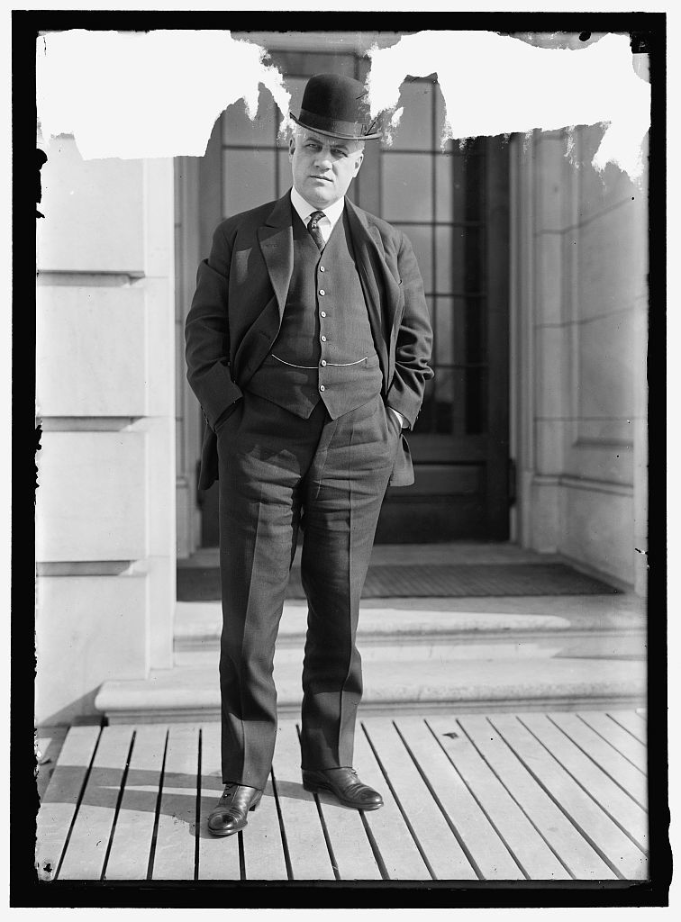 PALMER, ALEXANDER MITCHELL. REP. FROM PENNSYLVANIA, 1909-1915; ALIEN PROP. CUST. 1917-1919; ATTORNEY GENERAL, 1919-1921