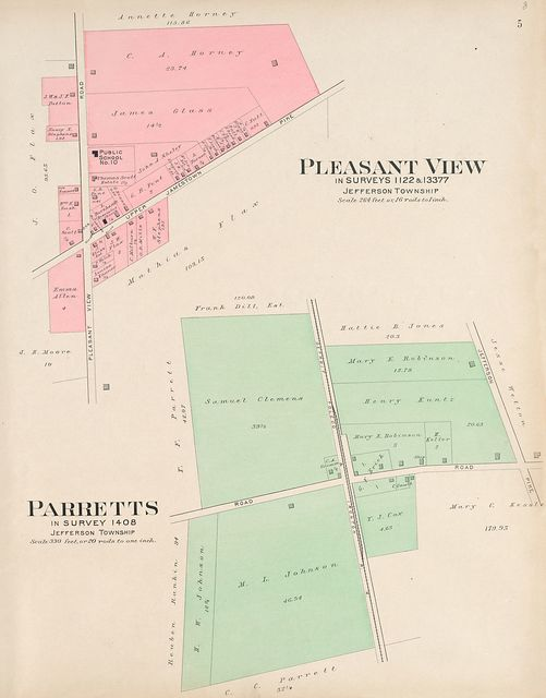 Plat book of Fayette County, Ohio : compiled from county records and actual surveys /