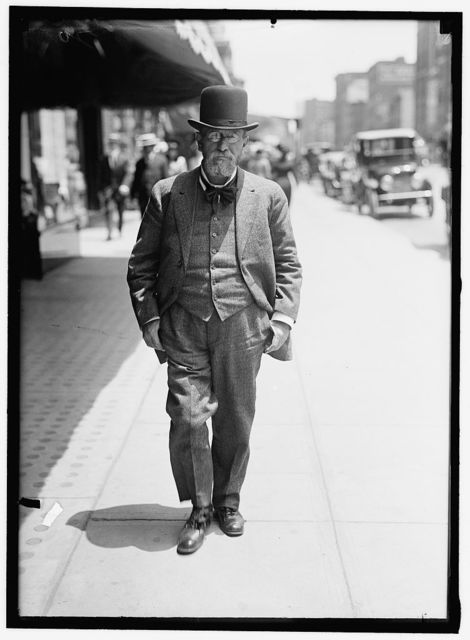 POST, LOUIS FREELAND. ASST. SECRETARY OF LABOR, 1913