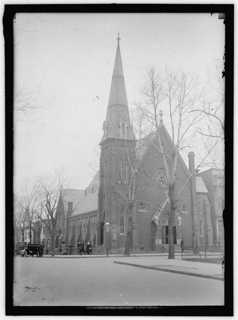PRESBYTERIAN CHURCH. 3RD AND E STREETS, N.W.