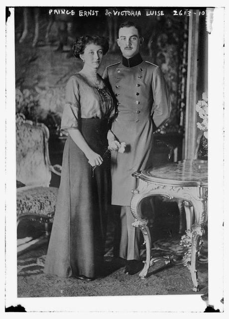 Prince Ernst & Victoria Luise