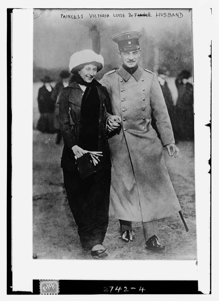 Princess Victoria Louise and husband