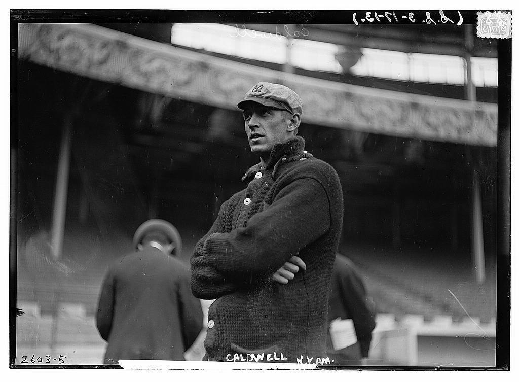 [Ray Caldwell, New York AL, at Polo Grounds, NY (baseball)]