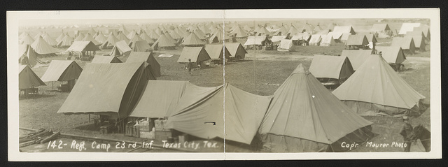 Reg't camp 23rd Inf., Texas City, Tex.