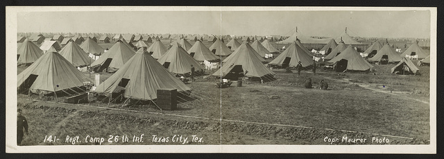 Reg't camp 26th Inf., Texas City, Tex.