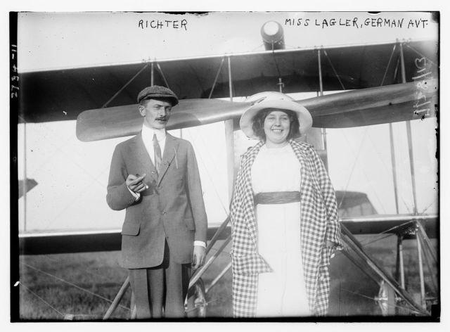 Richter; Miss Lagler, German Avt.