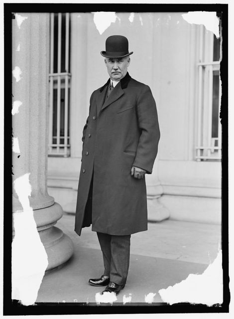 ROBERTS, GEORGE EVAN. DIRECTOR OF THE MINT, 1898-1907, 1910 -