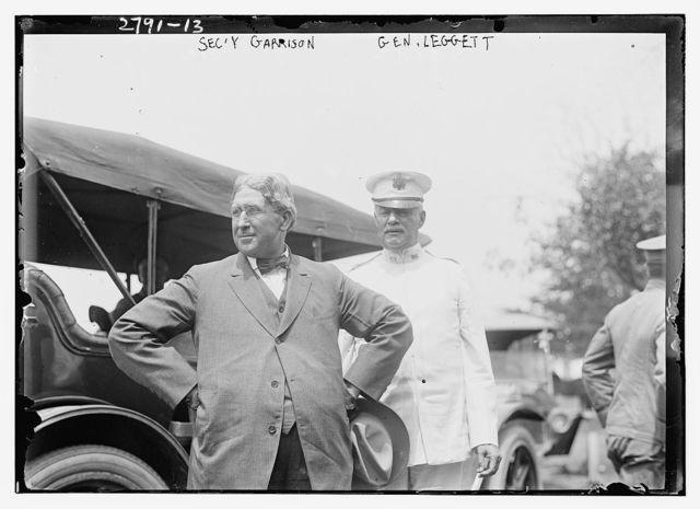 Secy Garrison [and] Gen. Leggett