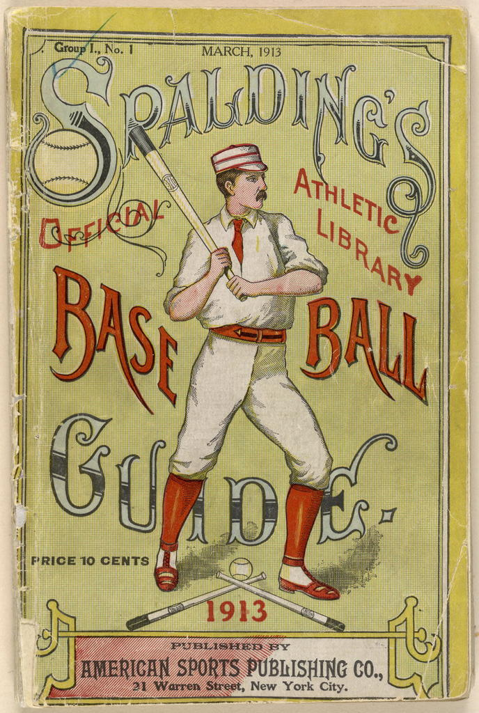 Spalding's official base ball guide, 1913