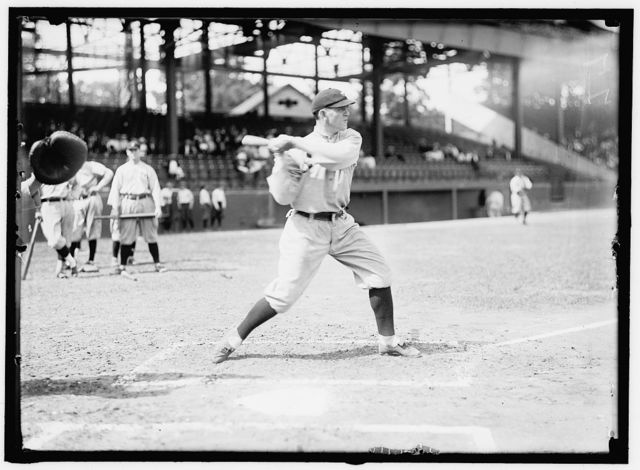 [Steve O'Neill, Cleveland AL, at National Park, Washington, D.C. (baseball)]
