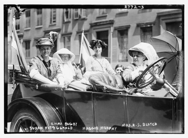 Susan Fitzgerald, Emma Bugby, Maggie Murphy, and Mrs. H.S. Blatch