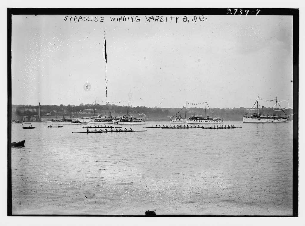 Syracuse winning Varsity 8, 1913