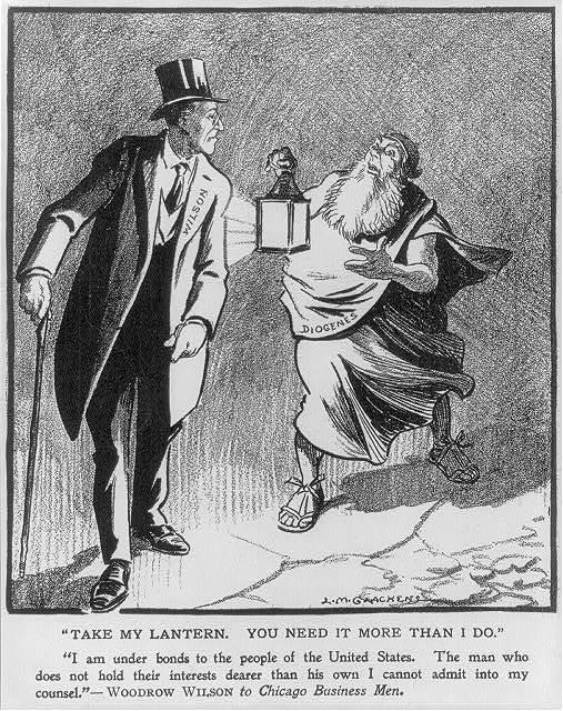 Take my lantern. You need it more than I do! / L.M. Glackens.