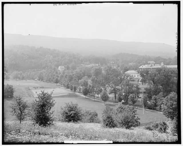 [The Homestead from Sunset Hill, Hot Springs, Va.]