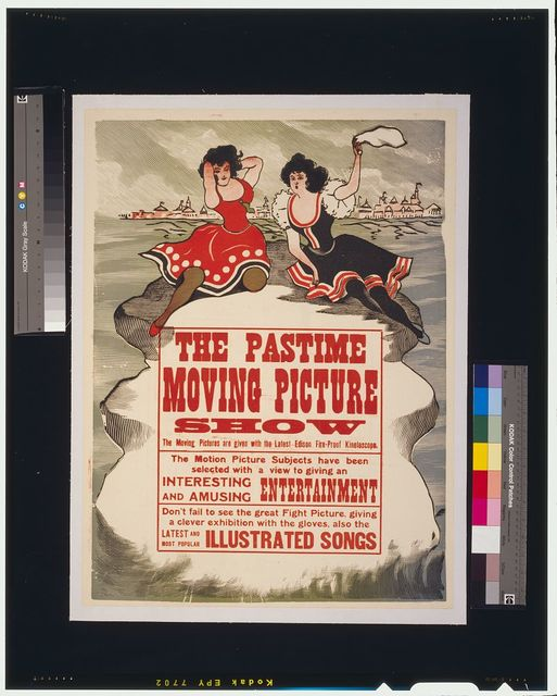 The Pastime moving picture show