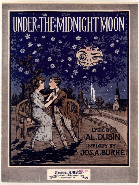Under the midnight moon