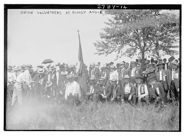 Union Volunteers [i.e., 72nd Pennsylvania Infantry] at Bloody Angle