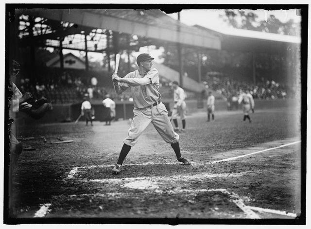 [Vean Gregg, Cleveland AL, at National Park, Washington, D.C. (baseball)]