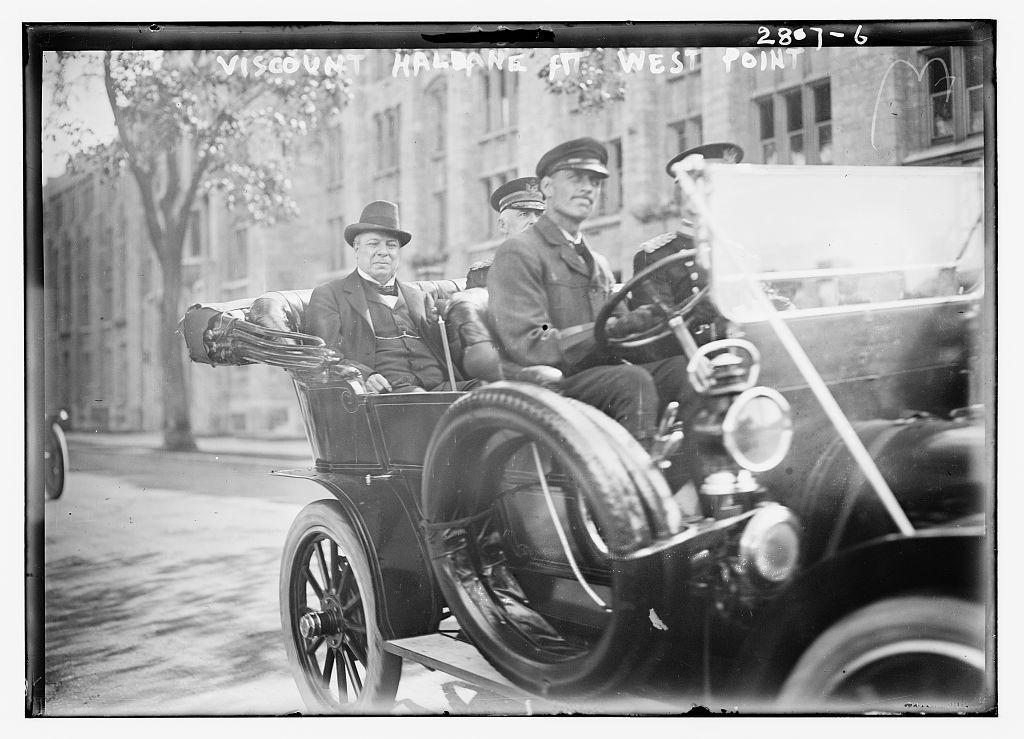 Viscount Haldane at West Point