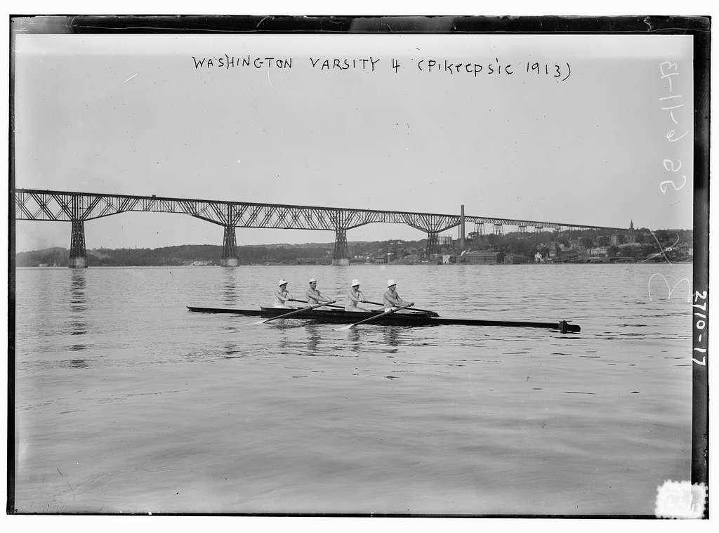 Wash. Varsity 4 (Po'k'psie 1913)