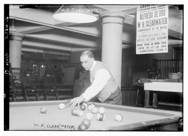 W.H. Clearwater - pool