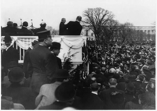 Wilson's inaugural speech