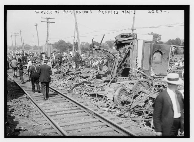 Wreck of Bar Harbor express