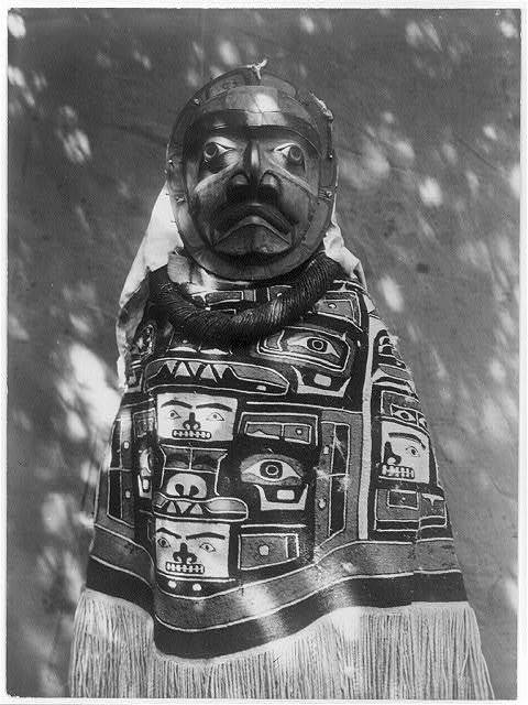 A Tluwulahu costume--Qagyuhl