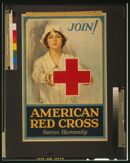 American Red Cross serves humanity Join! / / Lawrence Wilbur.