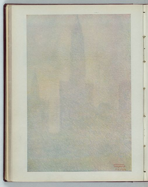 [America's tallest tower, plus some temperament] / Fornaro, NY., 1914.