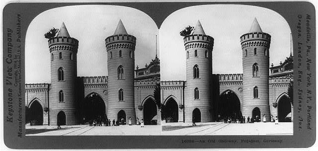 An Old gateway, Potsdam, Germany